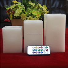 Home garden outdoor electric flicker paraffin wax candle wax price,real wax for making candle