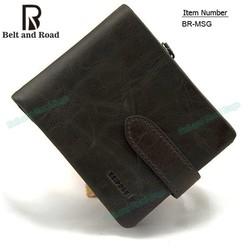 2015 men's fashion leather wallets, hot sale leather men purse