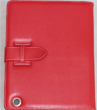 Foldable leather cover leather cover for iPad air2 case