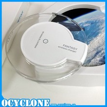 2015 new fantasy 5V 1A wireless charger for Iphone for Samsung S6