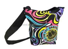 Fashion unisex canvas shoulder bag