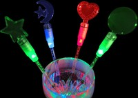 LED Light-Up Drink Stirrers 7.87 inch or 20cm LED Coffee Stirrers Ideal for the Bars Party and Clubs