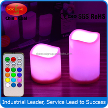 high quality Electronic Rustic Real Wax LED Candle