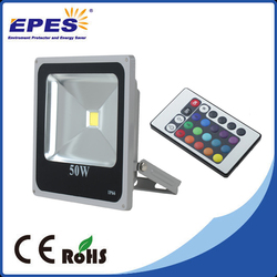 Die cast Aluminum floodlight color changing outdoor stage lighting led flood light 50W 70W led outdoor flood light