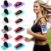 Hot Selling Sport Running Armband Holder Portable Gym Arm Band Strap TPU Case for Samsung S3 I9300