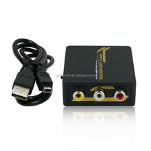 HDMI 1.3 Compliant NTSC PAL auto adjust Up-scales 720P or 1080P rca to hdmi converter