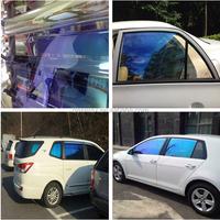 Fashion Color Change Removable Chameleon Light Blue Car Tint Film