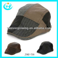 2013 top fashion high quality peak cap handsome hat for men and women sun hats