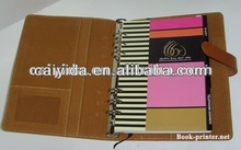 2012 diary note book