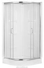 Shower Cabin, Enclosed Shower Cabin,Plastic Shower Cabin with Framing