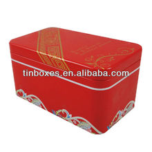 chinese rectangular metal tin , metal tin can ,metal tin box