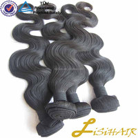 Natural Color Straight & Body Wave Virign Human Hair hair expressions weave
