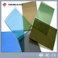 12mm thick toughened stained glass
