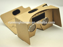 New creative Google cardboard for the format virtual reality equipment google cardboard Version 2.0