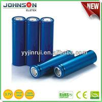 Hotsale 18650 3.7v lithium ion car batteries sale