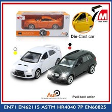 OEM accepted 1:34 scale B/O pull back function with music light die-cast car toy metal vehicle
