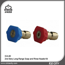 Hot Sale 4000psi 2nd Story Long-Range Soap and Rinse Flat Fan Spray Nozzle