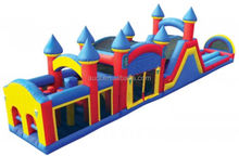Inflatable Non Slip Wet & Dry Obstacle 3 Piece Triple Play with Landing