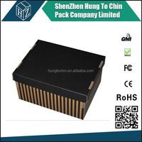 520 x 340 x 305 mm cardboard strong custom color storage box