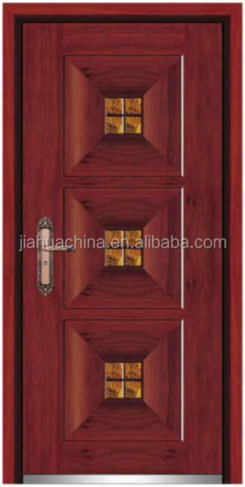 Modern wood door designs steel wood amored used exterior for Steel front doors for sale