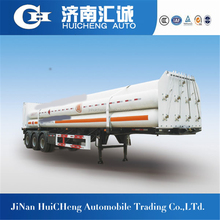 3axle 40ft 9 Jumbo tube CNG bundle container semi trailer