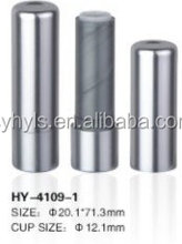 Hot sale Empty Aluminum Round Lip balm Containers/Container Lipstick Tube
