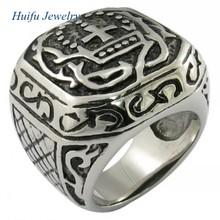 Anillo de acero inoxidable de la joyería de murano de la joyería de piedra
