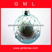 Favorable and high quality, Xmas ornament, Christmas Glass Ball supply,Trade Assurance supplier