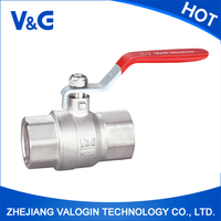 Shock Resistant Good Reputation Ball Valve With Strainer
