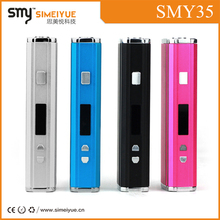 SMY Hottest high quality china electric cigarette&wholesale shenzhen electronic cigarette/smy35 mechanical box mod