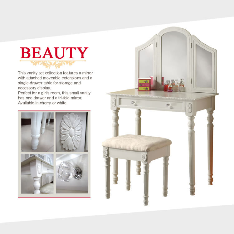 classic carved bedroom furniture dressing table