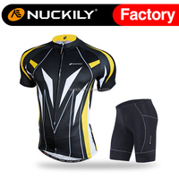 Nuckily Bike riding set cool design cycling padded short suit