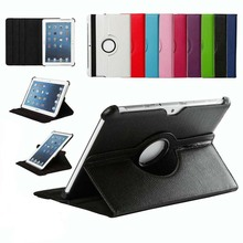 360 Rotary Stand Flip PU Leather Tablet Cover Case For Samsung Galaxy Tab 2 10.1 P5100 P7500