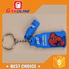 Factory supplied various custom soft pvc keychain