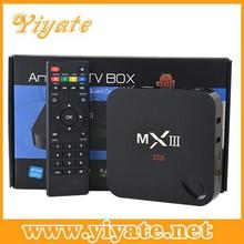 MXIII/MX3 Amlogic S802 quad core android 4.4 kitkat tv box 2GB/8GB 4K TV kodi/xbmc set top box