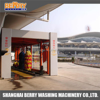 CHINA Factory price automatic tunnel self service car wash station equipment machine