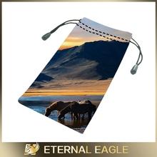 High quality printed sunglasses, frame bags with logo, eyewear bag