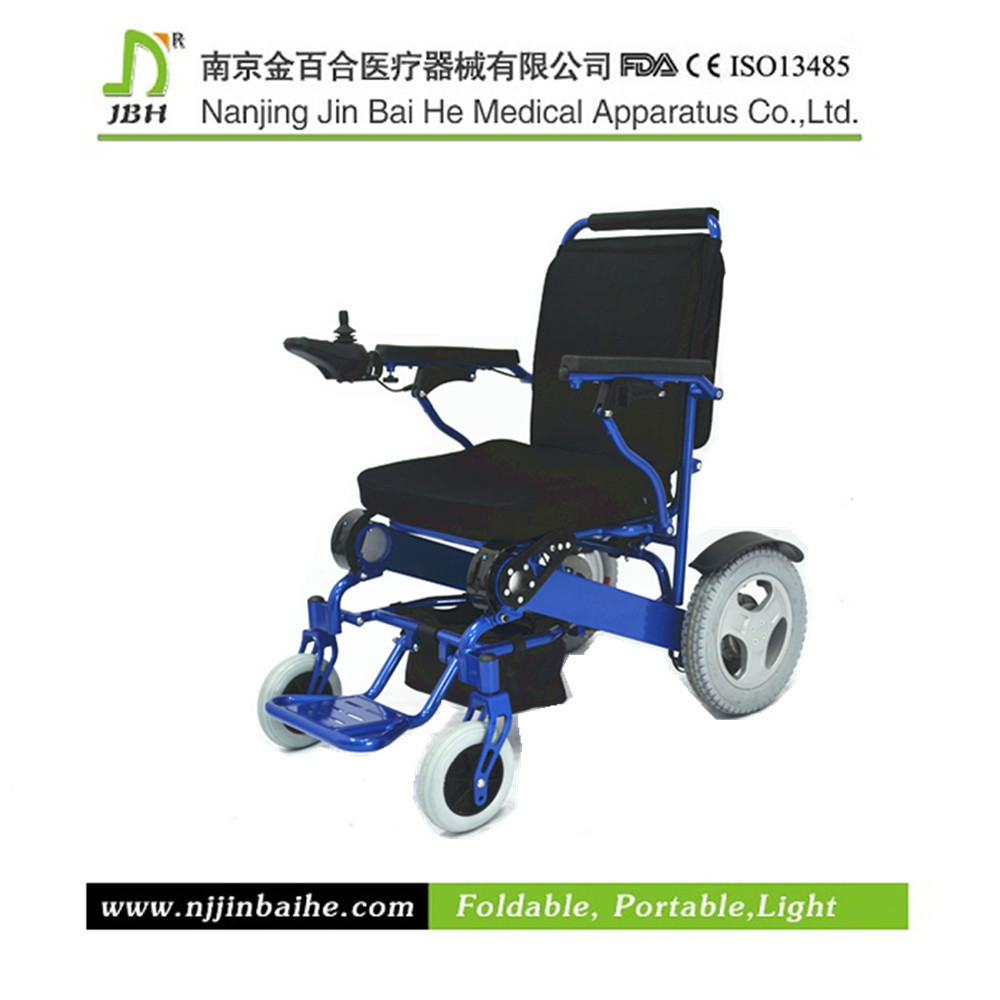 Elderly Disabled Electric Folding Commode Wheel Chair
