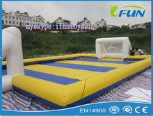 inflatable soap soccer game / inflatable soap stadium soccer pitch /soap soccer inflatables