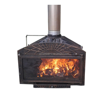 Factory direct selling wood burning fireplace insert (BSC326-1)
