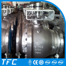 stainless steel A351 CF8 ball valve