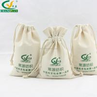 4 ounce cotton material custom drawstring bags