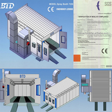 Re:Would like to supply spray booth with CE and ISO9001:2000