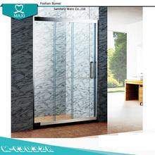 Marco simple 3 puerta vinculado silding puerta de la ducha para el hogar M-13032