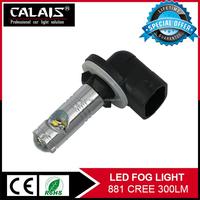 Best seller 15w 300lm 7000k H1 H3 H7 9005 9006 880 881 led fog light kits for cruze