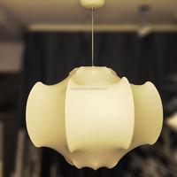 Handmade Decorative White Silk Skin Lantern Cocoon Suspension light for bedroom,M9079