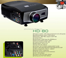Unimaginable low price 2400 lumens,WXGA up to full HD,3D ultra short Throw Projector,vivibright portable projector