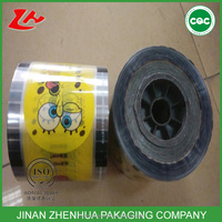Custom Printing Cup Sealing Film for Automatic Sealer Machine