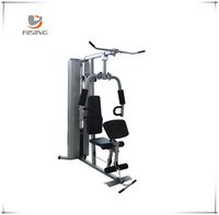 qj-hm032 one station home gym with 150 b plastic weight satck