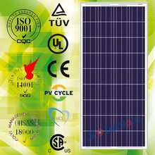 Best quality waterproof 145w solar panels 145watt with tuv ul and product warranty